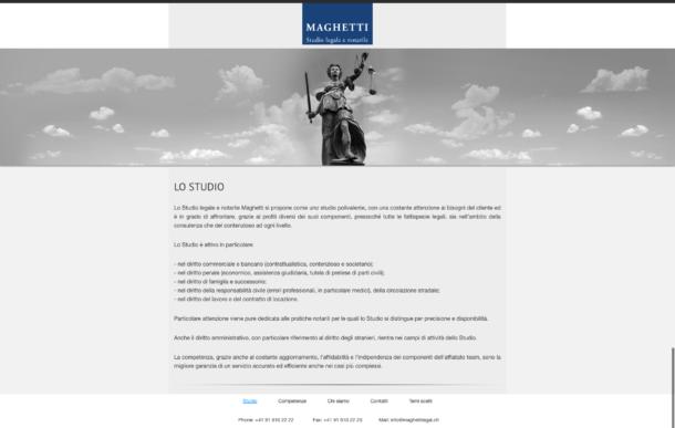 Studio legale e notarile Maghetti